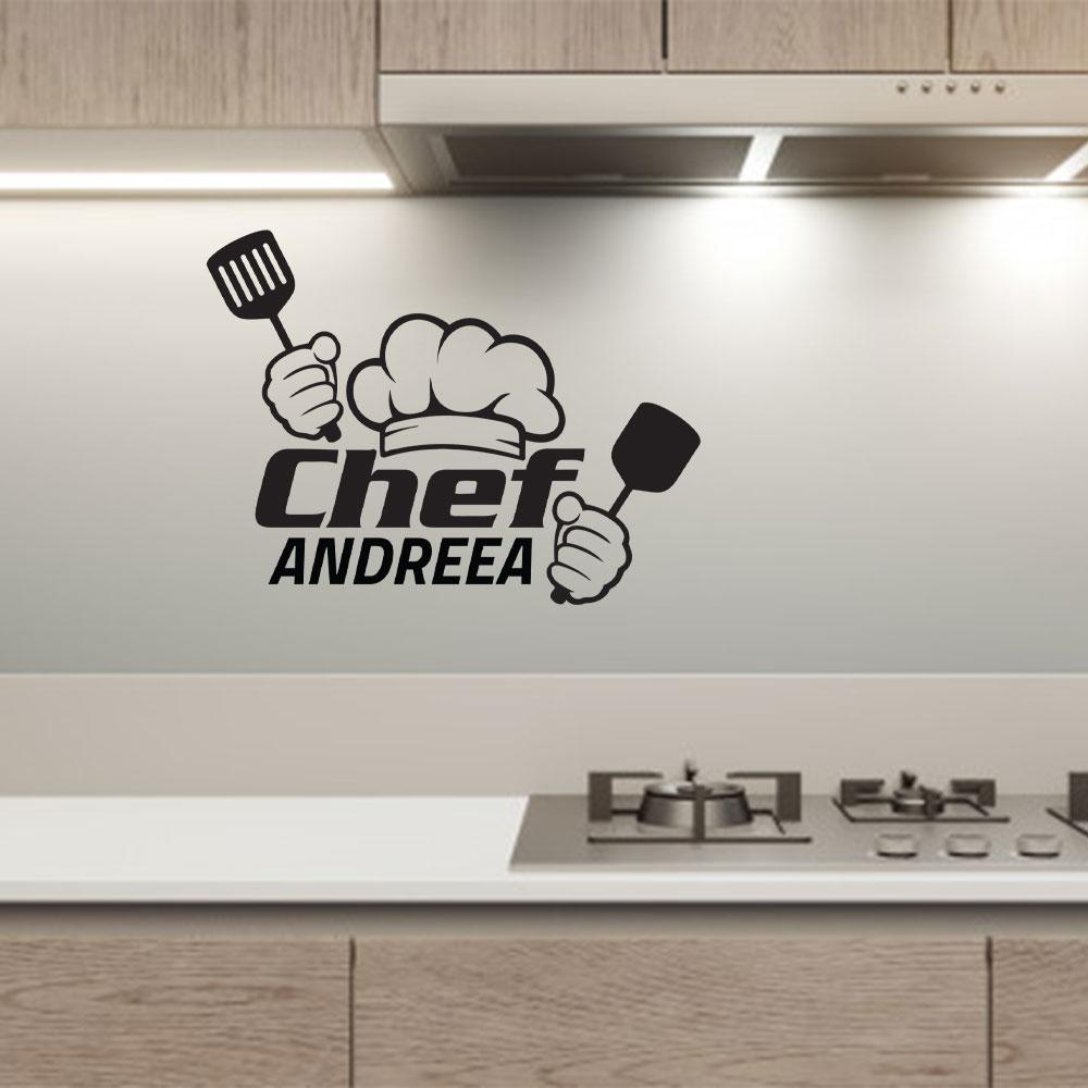 Sticker Chef Personalizat